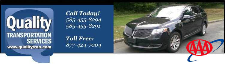 Rochester NY Taxi, Sedan Service, Corporate & Personal